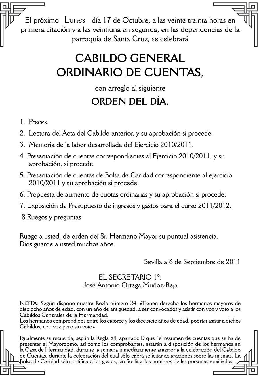 El próximo lunes día 17 de Octubre, a las veinte treinta horas en primera citación y a las veintiuna en […]