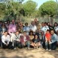 Con motivo de haber sido declarado AÑO JUBILAR MARIANO el presente curso 2012/13, se ha organizado por la Parroquia, Asociación de Lourdes y Hermandad de Santa Cruz, una PEREGRINACIÓN a Almonte, donde actualmente se encuentra la Santísima Virgen del Rocío.