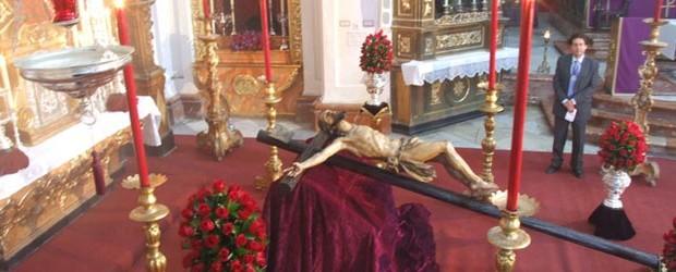 El próximo viernes día 22 de febrero, a las 20,00 horas, y desde la Parroquia de Santa Cruz, solemne y devoto ejercicio del VÍA CRUCIS presidido por la venerada imagen del SANTÍSIMO CRISTO DE LAS MISERICORDIAS.