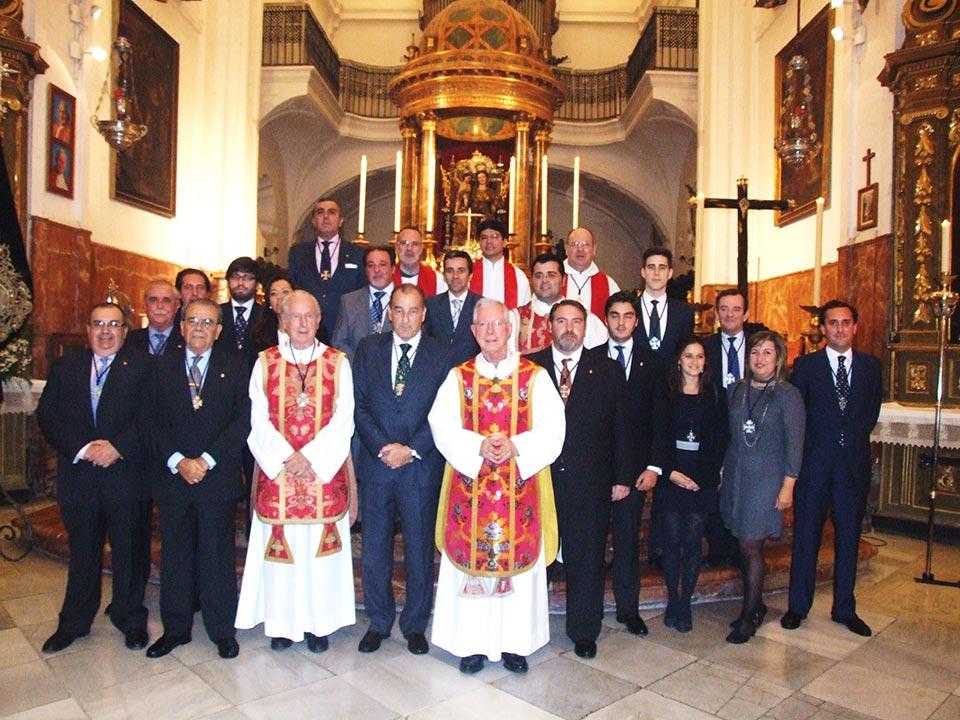 junta de gobierno hermandad de santa cruz
