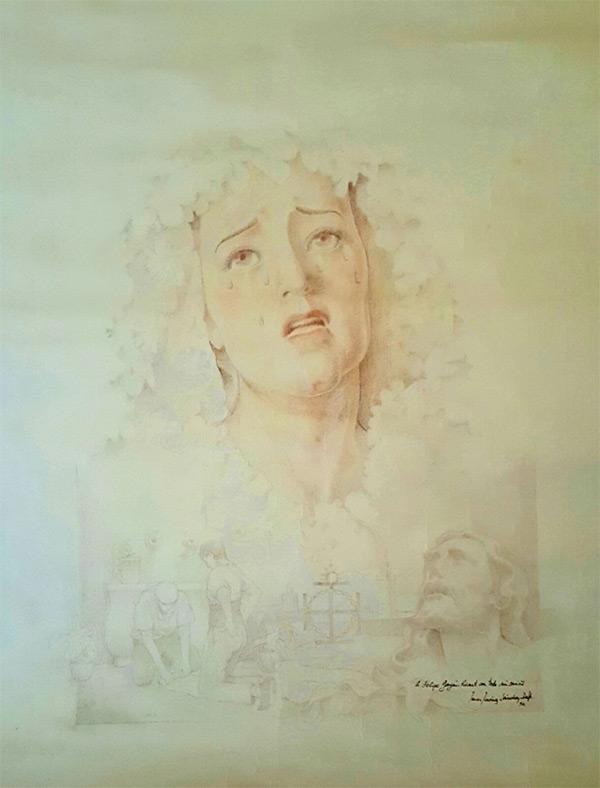 Virgen de los Dolores. Autor: Javier Jiménez Sánchez-Dalp