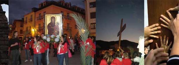 """Los días que van del jueves 10 al Domingo 20 de marzo recibiremos la ansiada visita de la Cruz que Juan Pablo II regaló a los Jóvenes del mundo. La """"Cruz de los Jóvenes"""", llamada también """"Cruz del Papa"""", """"Cruz Peregrina"""" o """"Cruz de la JMJ"""", ha viajado por todo el mundo desde que en 1.984 se la entregase a los Jóvenes en la Clausura del Año Jubilar celebrada en Roma, y en todos los lugares ha recibido una impresionante acogida."""