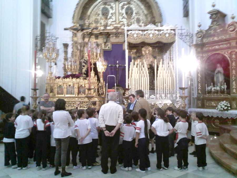 El pasado miércoles 13 de Abril un grupo de alumnos del Colegio Parroquial San Isidoro visitó la Parroquia de Santa […]