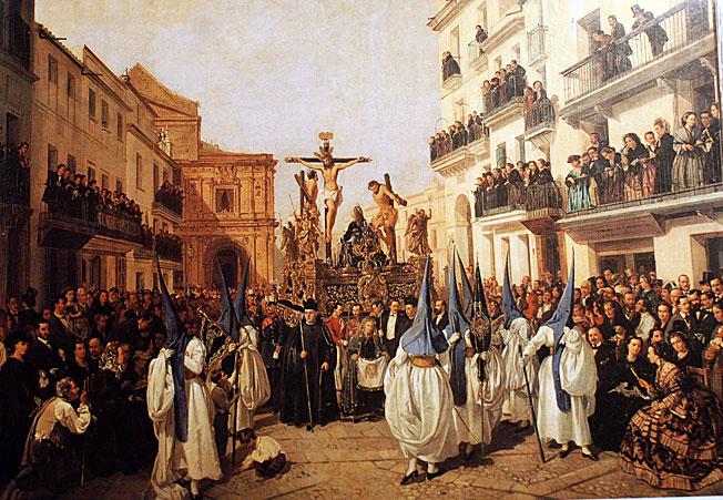 """Conferencia de josé Fernández López. sobre """" La imagen romántica de la Semana Santa de  Sevilla"""". Martes 15 de Mayo.  20:30 h."""