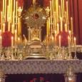 Lunes 3, martes 4 y miércoles 5 de junio. 20:00h. Triduo Sacramental.