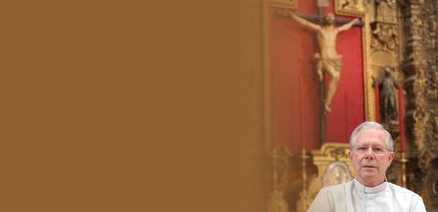 Perú fue el primer destino como misionero del delegado diocesano de misiones y canónigo de la catedral, a quien el cardenal Bueno Monreal ordenó como sacerdote el día de la Inmaculada de 1975.