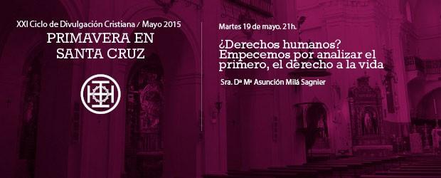 Martes 19 de mayo a las 21h Sra. Dª Mª Asunción Milá Sagnier Viuda del Sr. D. Manuel de Salinas […]