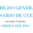 El próximo miércoles día 17 de Octubre, a las 20:30 horas en primera citación, y a las 21 en segunda, en las dependencias de la Parroquia de Santa Cruz, se celebrará CABILDO GENERAL ORDINARIO DE CUENTAS